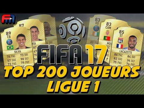 FIFA17 | STATS DES 200 MEILLEURS JOUEURS DE LIGUE 1 !