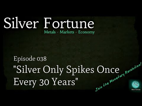 """Silver Only Spikes Once Every 30 Years"" - Episode 038"