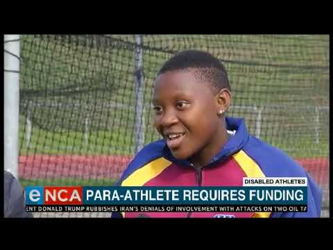 Paralympic Dreams For Young Nokuthula Yonke
