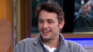 James Franco Discusses Having Grandma on Set of 'Oz: The Great and the Powerful' in Interview streaming