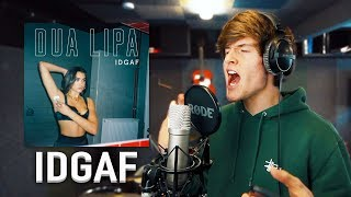 Remaking IDGAF by Dua Lipa in ONE HOUR! | One Hour Song Challenge