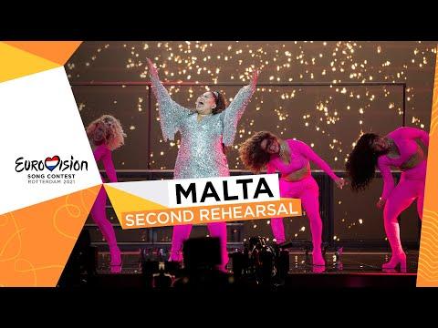Destiny - Je Me Casse - Second Rehearsal - Malta ?? - Eurovision 2021