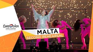 Destiny - Je Me Casse - Second Rehearsal - Malta 🇲🇹 - Eurovision 2021
