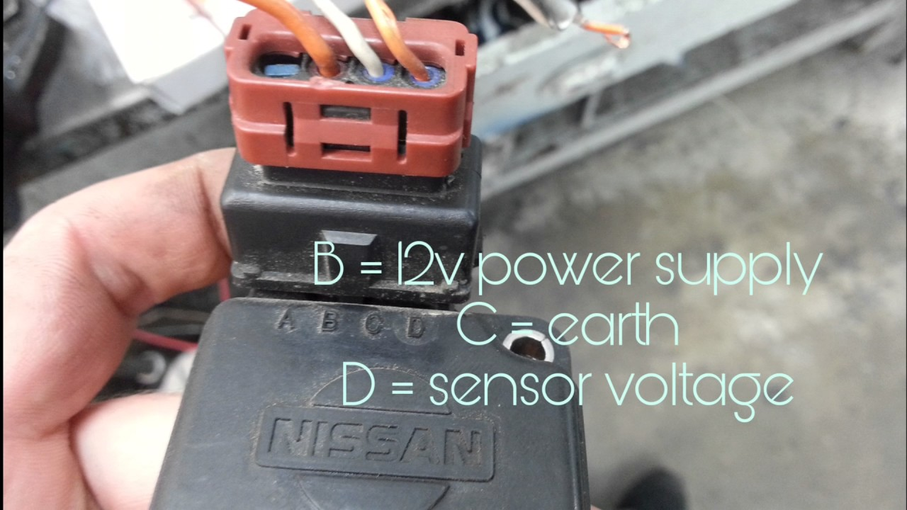 How To Bench Test Nissan Sr20 Maf Sensor