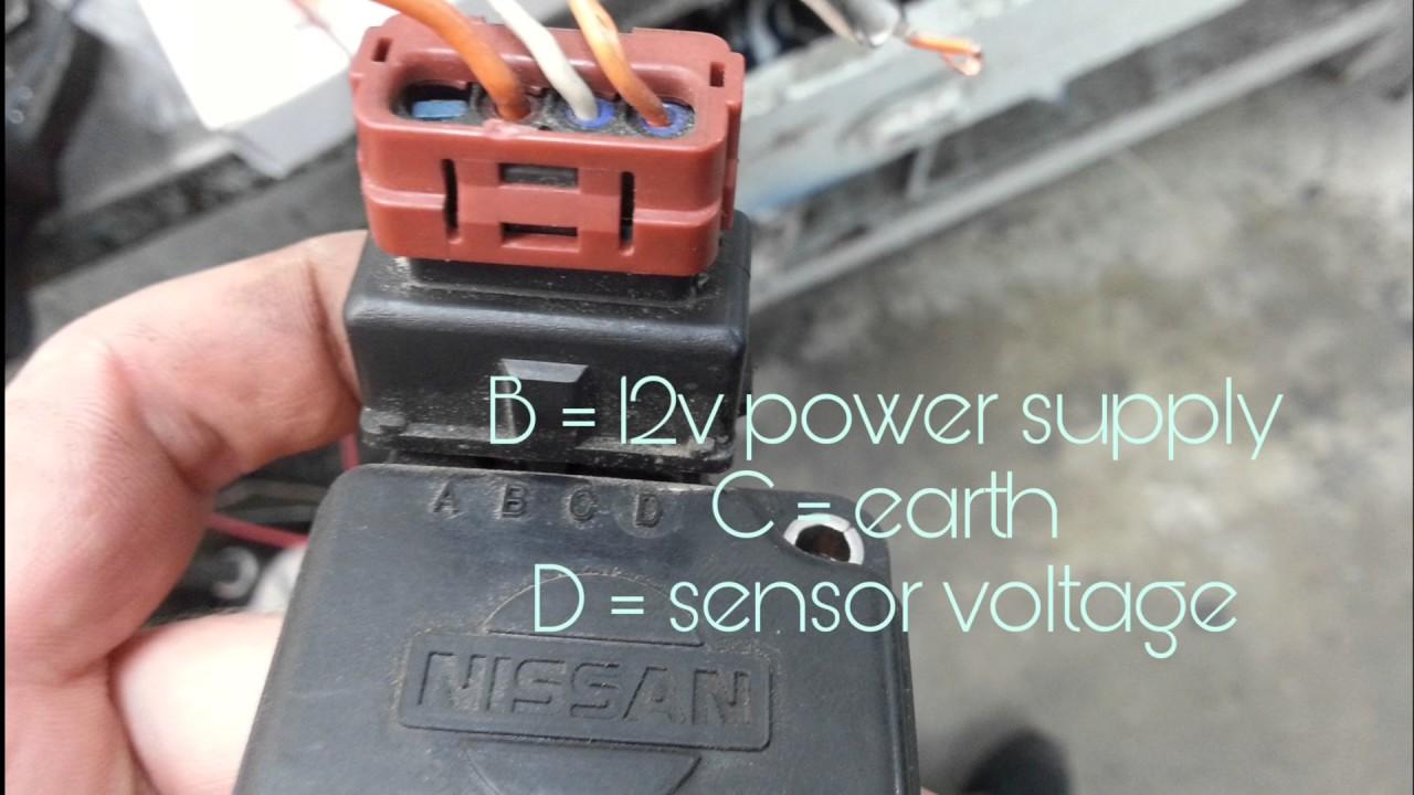 how to bench test nissan sr20 maf sensor youtube sr20det maf sensor wiring how to bench [ 1280 x 720 Pixel ]