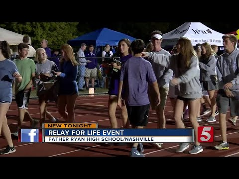 Relay For Life Held At Father Ryan High School