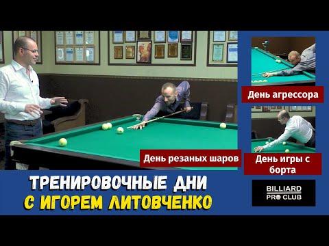 Тренировки по дням с Игорем Литовченко. Подготовка к чемпионству. Онлайн-школа BilliardProClub.