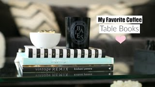 My Favorite Coffee Table Books + What's On My Coffee Table - MissLizHeart