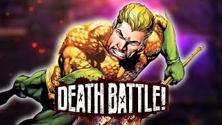 Aquaman Dives into DEATH BATTLE!