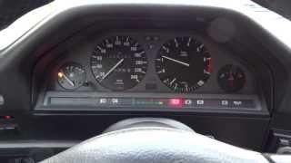 BMW e30 - otáčky