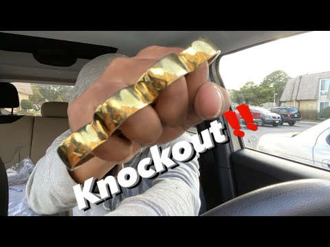 Real brass knuckles (Hood review)