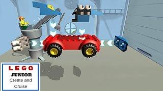 ليغو الصغار إنشاء وكروز l شاحنات كبيرة l للأطفال!