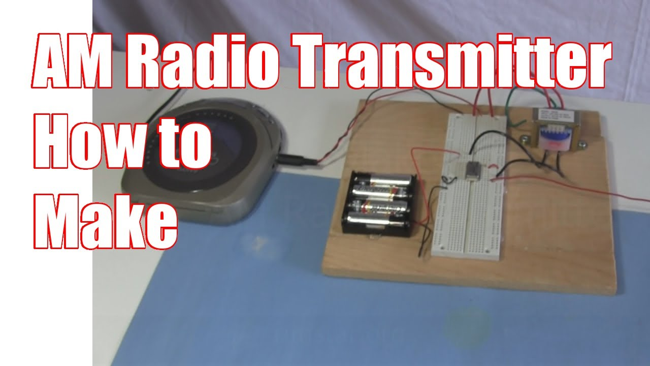 How to Build a Radio Transmitter That Can Transmit Sound