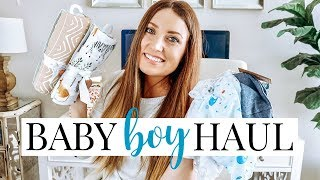 NEWBORN BABY BOY HAUL (Clothes & Accessories) | Kendra Atkins