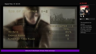 Rebecca Play's Resident Evil 4 -PS4PRO-