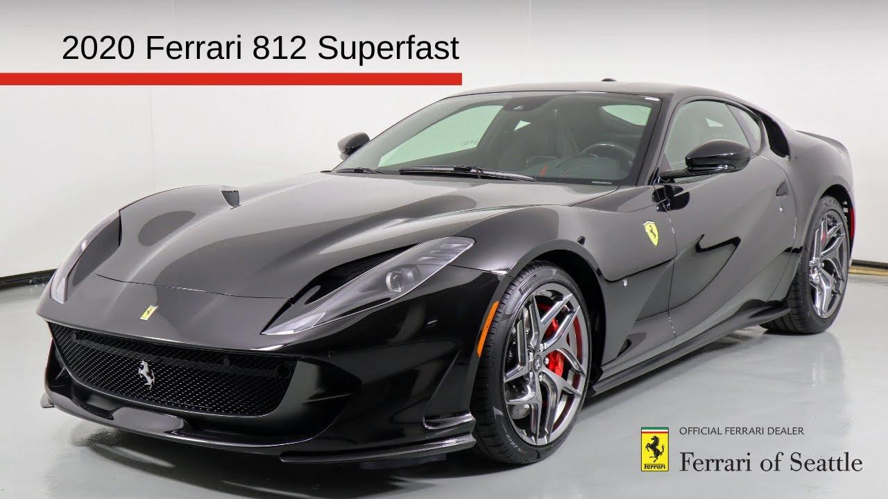 2020 Ferrari 812 Superfast Start Up And Walk Around Youtube