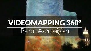 VIDEOPROIEZIONE 3D a Baku - Giochi di Luce