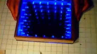 Светодиодный куб бесконечности(Создание светодиодного куба бесконечности своими руками, создание оптической иллюзии с использованием..., 2012-08-23T05:29:46.000Z)