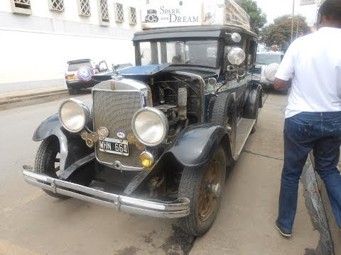 Family Tour Around the World in a Vintage Car - Arusha
