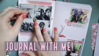 Creative Journal Process #4 | Real Time Chat & Journal with Me!