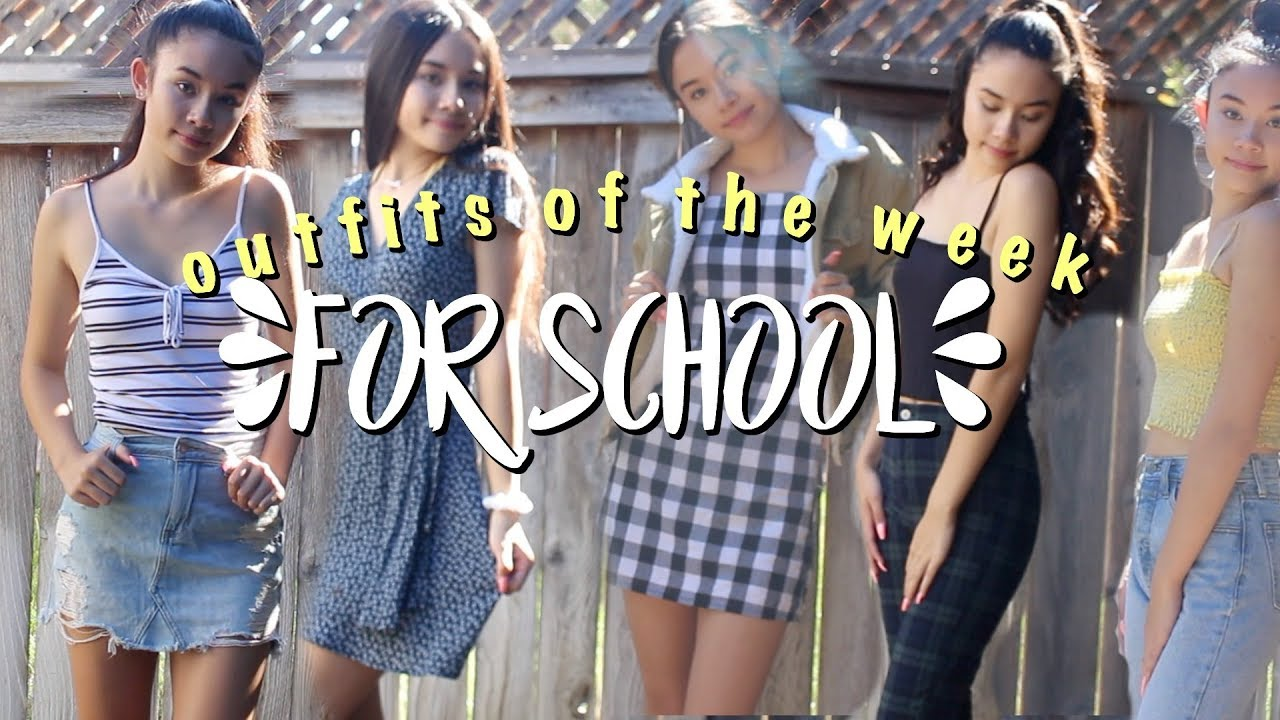 OOTW For School! || Back to School Outfit Ideas 2018 6