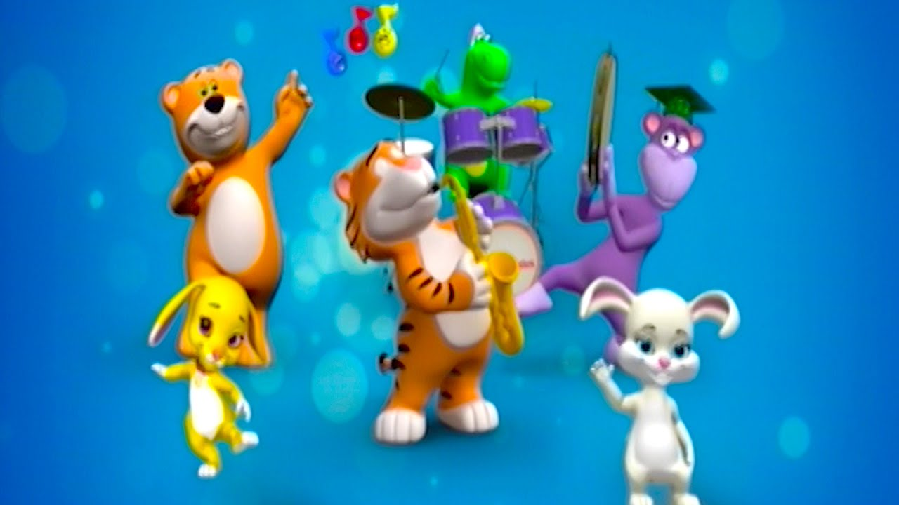 Baby Animals At The Zoo Song Learn Animal Songs From
