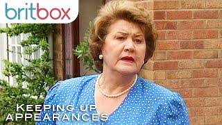 Patricia Routledge's First Ever Scene as Hyacinth Bucket | Keeping Up Appearances
