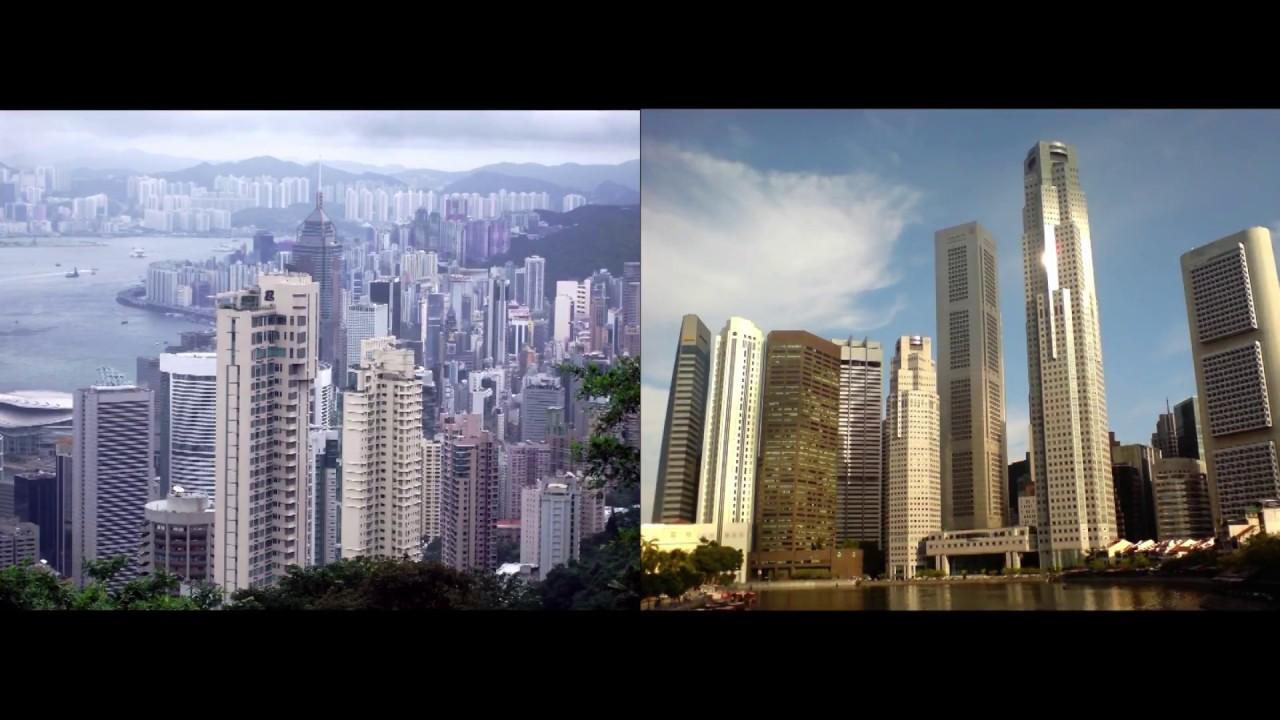 Comparing Hong Kong And Singapore You