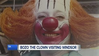Bozo the Clown visiting Windsor