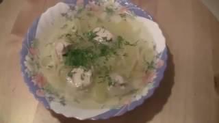Куриный суп с вермишелью в мультиварке.