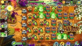 224.-plantas vs zombies 2(supervivencia pantano del jurasico  infinito parte 224) carlos sg21