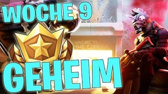 GEHEIMER BATTLE STERN WOCHE 9 SEASON X ☆ LEVEL UP ☆ FORTNITE BATTLE ROYALE DEUTSCH