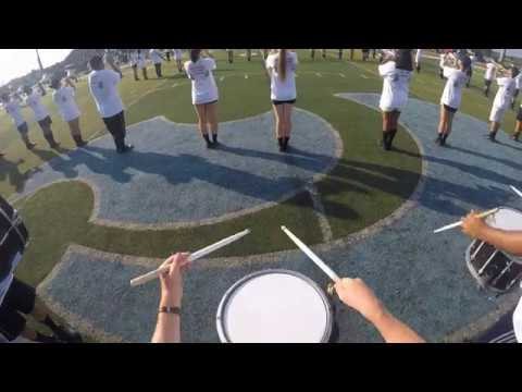 Centreville High School Marching Band - Welcome to the Jungle Snare Cam - Dylan Storie