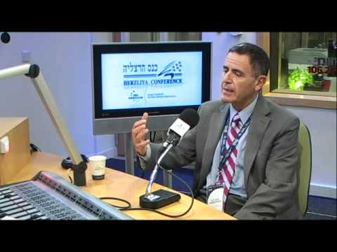 Mr. Jonathan Davis at the 2012 Herzliya Conference @ IDC radio