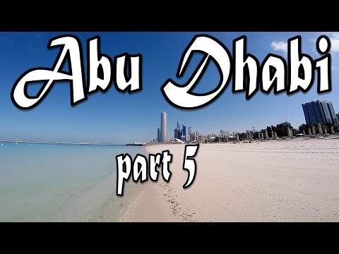 ABU DHABI VLOG PART 5 CORNICHE BEACH AND THE LEANING TOWER