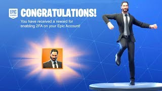 How To UNLOCK FREE JOHN WICK Skin in Fortnite...