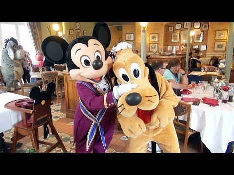 Inventions Disney Character Montage at Disneyland Hotel Paris, Orient Express w/Mickey, Minnie+