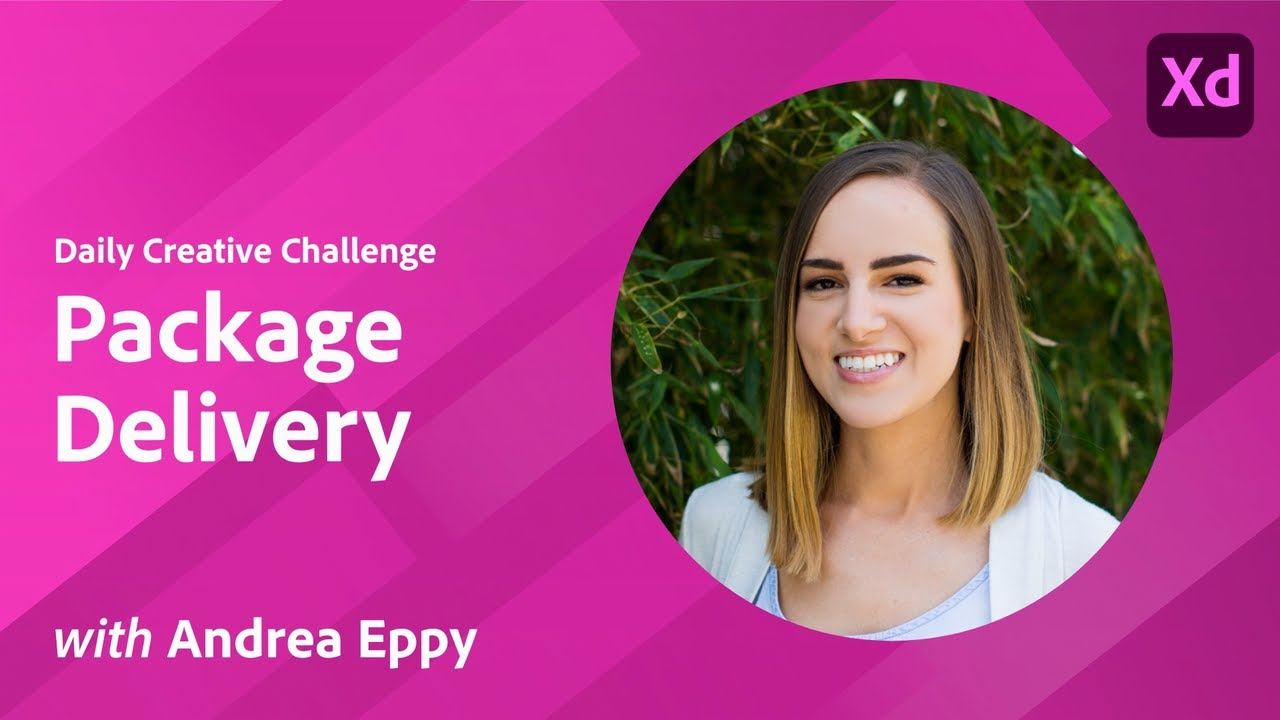 Creative Encore: XD Daily Creative Challenge - Package Delivery