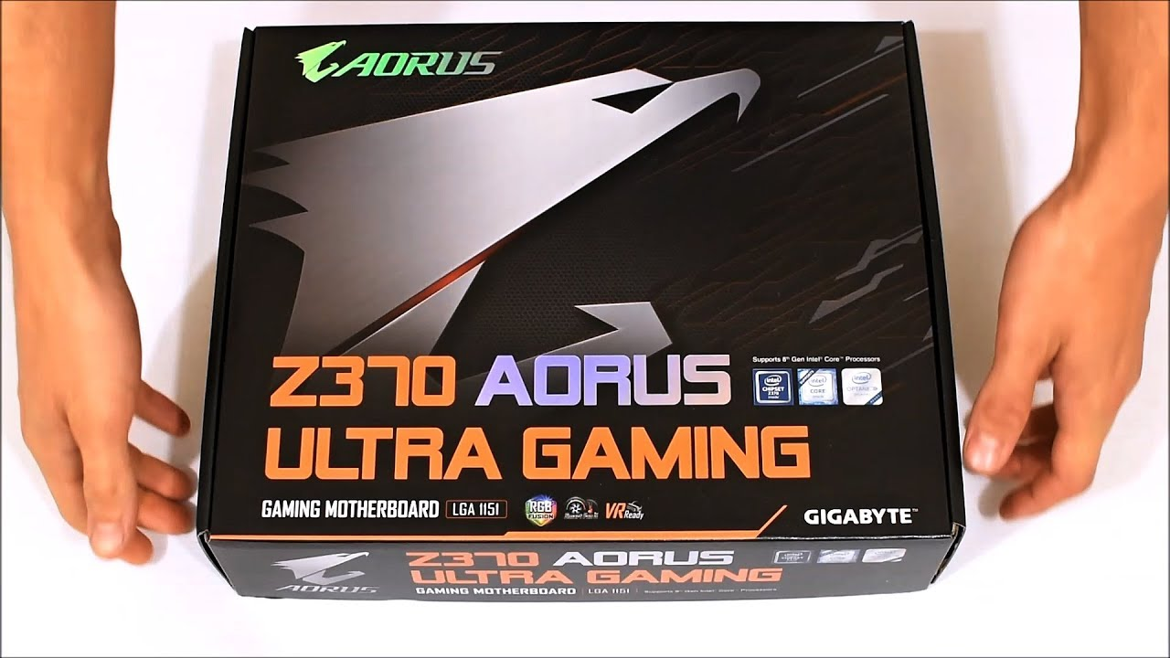 GIGABYTE Z370 AORUS Ultra Gaming (unboxing)