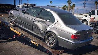 Сколько стоит БИТАЯ BMW М5 Е39? Восстановить нельзя продать. Аукцион разбитых машин в США.