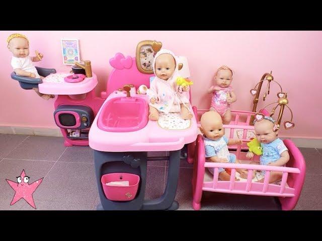 Se ESCAPAN mis 5 bebés y tengo que comprar una NURSERY CENTER Baby Born muñecas bebés