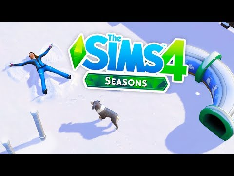 DOES FLAT SNOW ACTUALLY LOOK GOOD!?⛄ // THE SIMS 4 SEASONS NEWS & INFO thumbnail