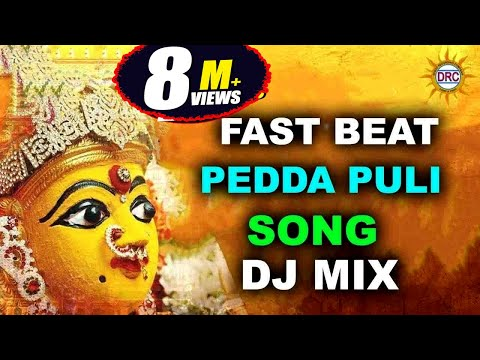 Fast Beat PedhaPuli Song Dj Mix Special Song  | Devotional Songs | Disco Recording Company
