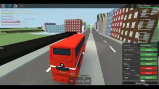 Roblox Mind The Gap Simulator Driving the ALX400 Trident 2 CENTRAL BUS COMPANY after Accident