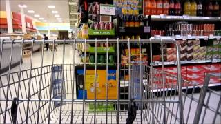 Publix Supermarket Tour USA 2/14/14 American Shopping vlog