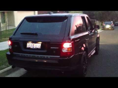 Range Rover Sport TDV8 Exhaust