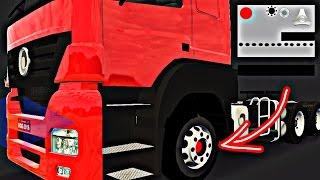 Heavy Truck Simulator, APRENDA A EDITAR E ADCIONAR A SKIN RODA NO SEU CAMINHÃO !