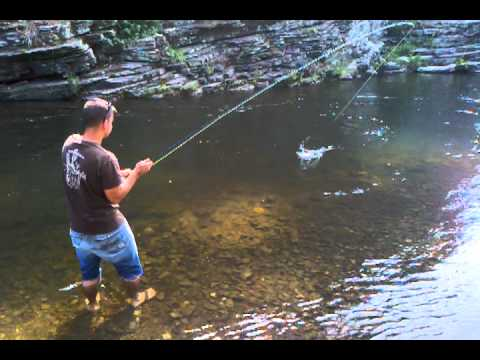 Broken bow fly fishing youtube for Broken bow lake fishing report