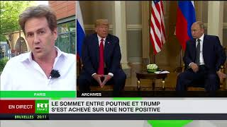 Jean-Eric Branaa : Trump «a créé le chaos aux Etats-Unis»