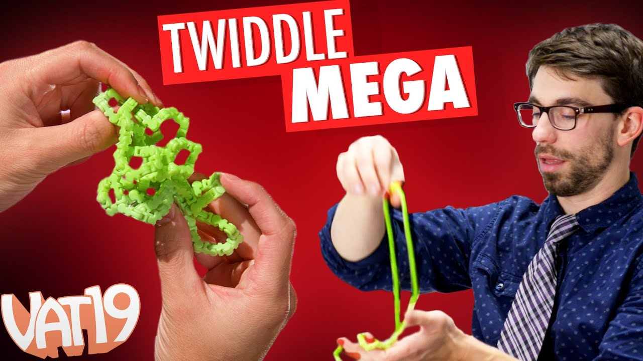 Twiddle Mega = The Ultimate Fidget Toy